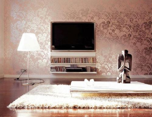 نکته هایی درباره کاغذ دیواری اتاق خواب و پذیرایی