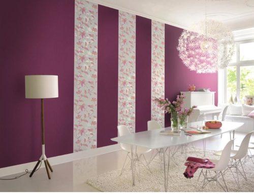 انواع کاغذ دیواری و نحوه انتخاب کاغذ دیواری