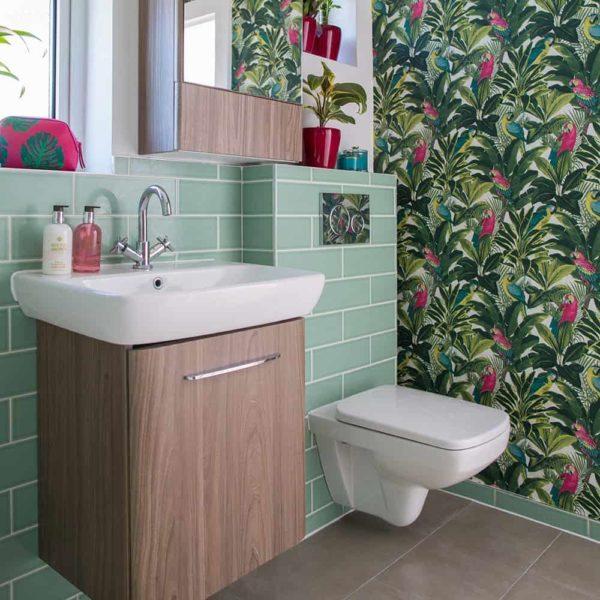 تمیز کردن کاغذ دیواری قابل شستشو
