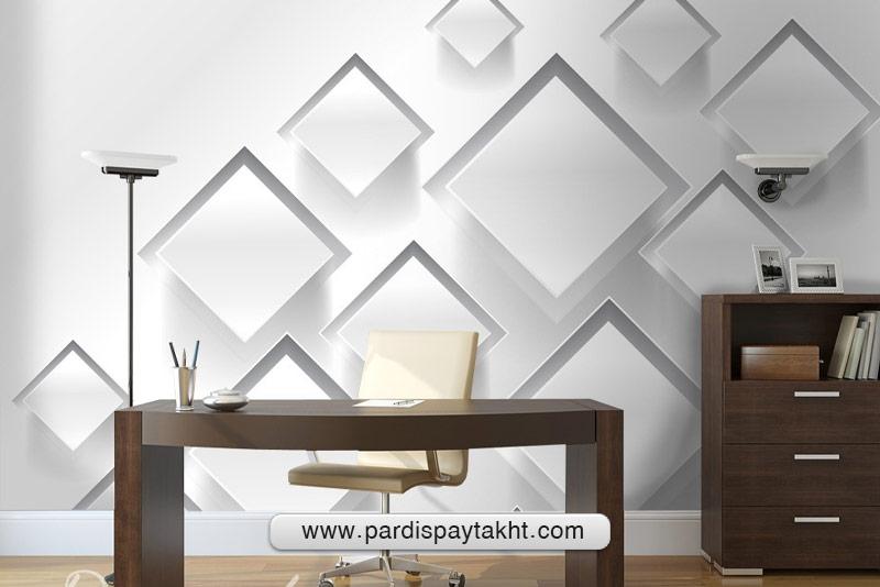 کاغذ دیواری مناسب برای دفتر کار