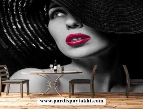 خرید کاغذ دیواری و پوستر دیواری چهره زن و دختر مناسب برای سالن زیبایی