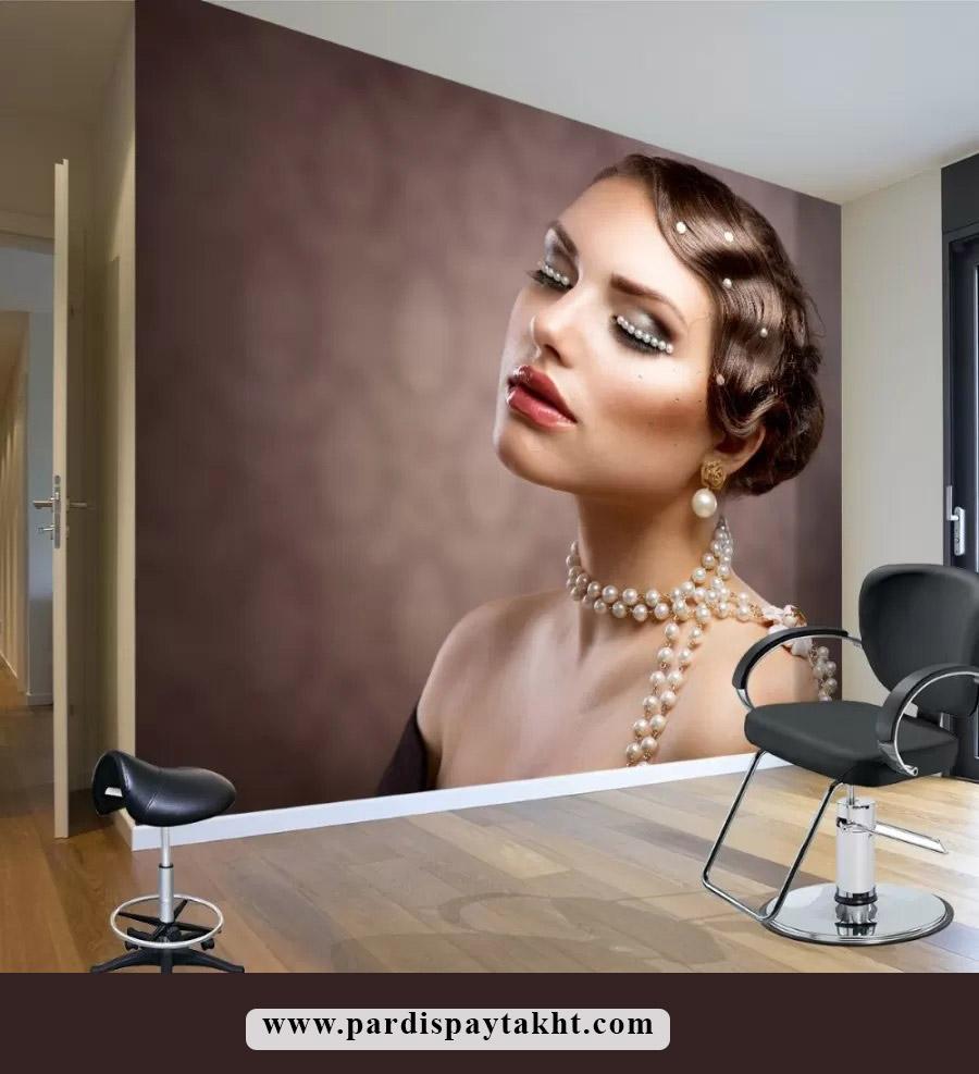 کاغذ دیواری و پوستر چهره برای سالن زیبایی
