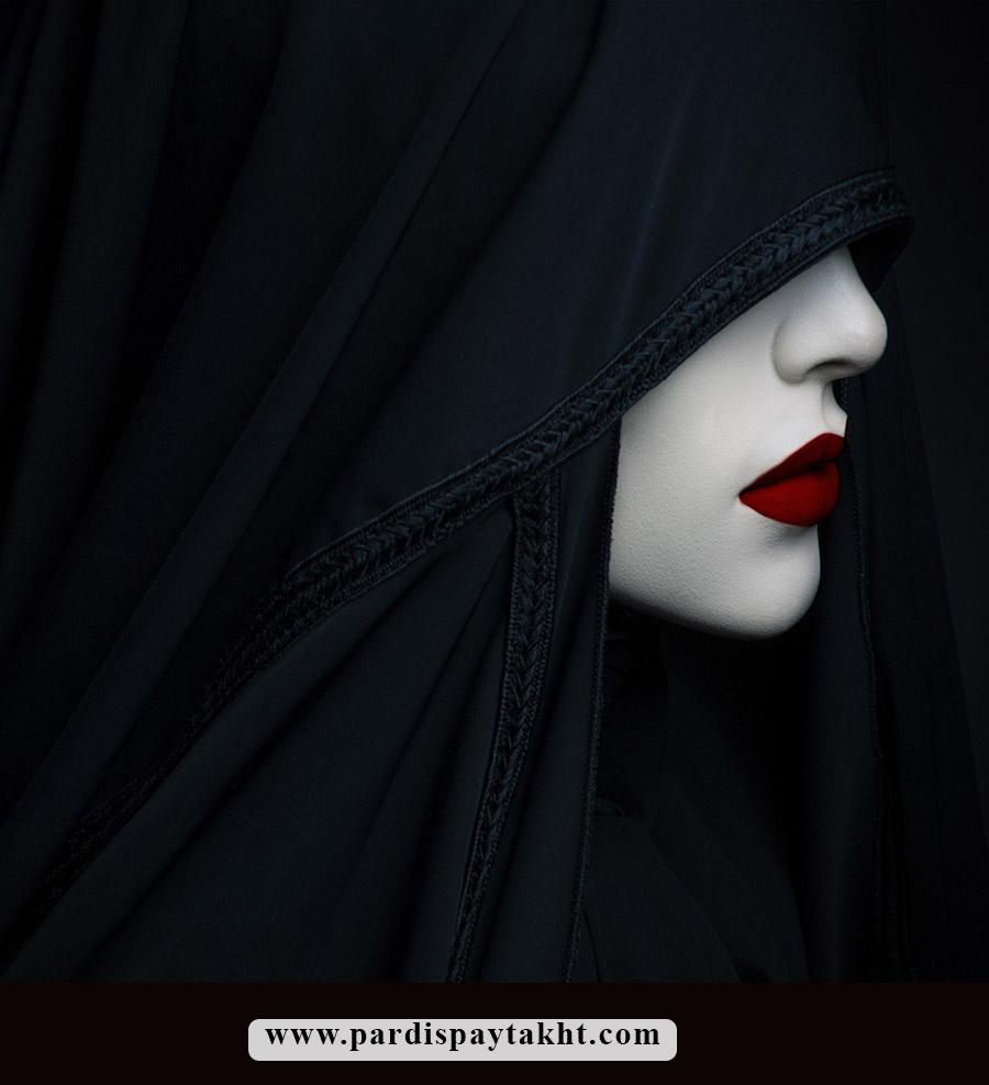 پوستر چهره و نصب کاغذ دیواری سه بعدی چهره زن برای سالن زیبایی