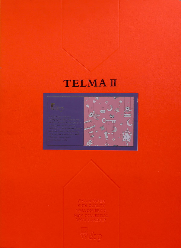 آلبوم کاغذ دیواری تلما Wallpaper Album Telma